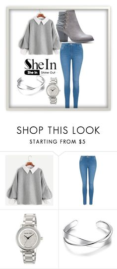 """SheIn fashions..."" by imee-29 on Polyvore featuring George and MICHAEL Michael Kors"