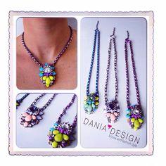 Collana stile Shourouk 3 varianti    per info: info@daniadesign.it  #collana #shourouk #collanashourouk #creazioni #creations #bijoux #accessori #accessories #newstyle #necklace #fashion
