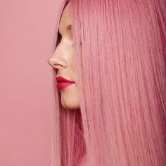 Think pink! Fatti travolgere dalla luminosità del rosa. Passa in salone ti aspettiamo! #AvedaItalia #pinkhair Hair Styles, Wedding, Collection, Pink, Mariage, Hairdos, Weddings, Haircut Styles, Hairstyles