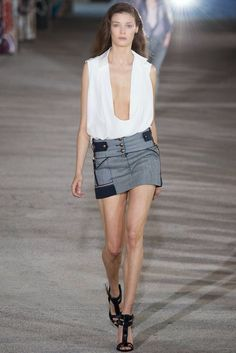 Nicola Loves. . .: The Collections: Anthony Vaccarello Spring 2015