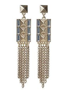 Hive & Honey Pyramid Fringe Earring | Piperlime $20.00