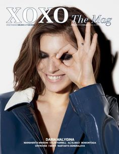 A big fat one-eye sign on the cover of Turkish magazine XOXO.
