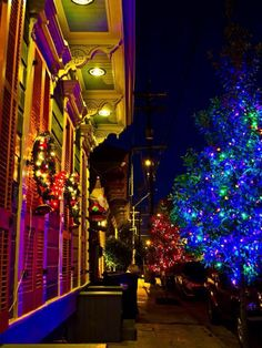 Christmas in New Orleans.
