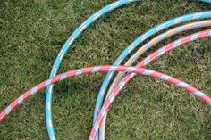 Carnival Themed Party Game Ideas Hula Hoop Game