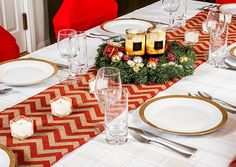 Decorating The Dining Table For Christmas - Best Gifts For Happy Living