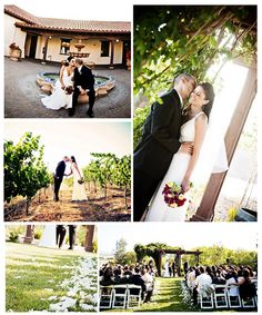 Love the Livermore wine region, great wedding venues- classic and chic