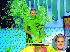 Heidi Klum Slimed Again! ►KCAs 2011