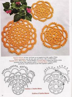 Doilies free patterns