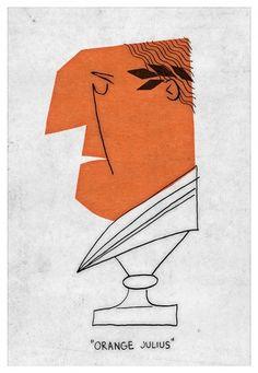 ORANGE JULIUS - Adrian Walsh - Design and Illustration