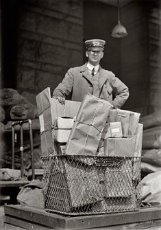 The U.S. Mail in 1914