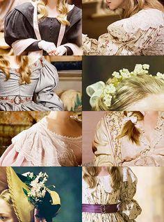 Cosette costume details. So perfect.
