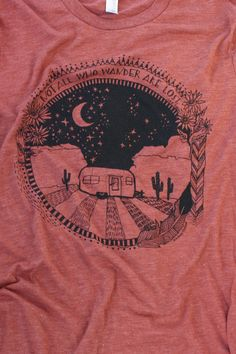 Hey, I found this really awesome Etsy listing at https://www.etsy.com/listing/205419736/large-wanderlust-tshirt-for-the-free