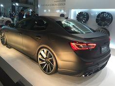 Black Maserati Ghibli III
