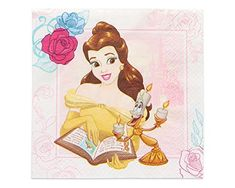 Amazon.com: American Greetings Beauty and the Beast Lunch Napkins (16 Count): Toys & Games