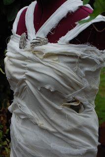 how to make bride of frankenstein dress - Google Search