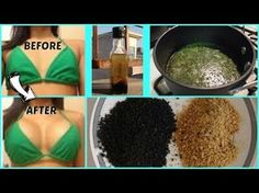 BREAST ENLARGEMENT NATURALLY AT HOME AND STOP BREAST SAGGING - FAST / Miracle Oil - YouTube