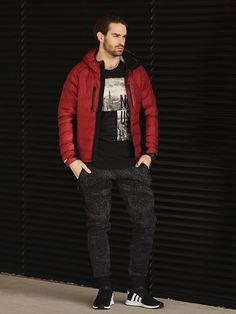 New outfit from the autumn/winter Bolf collection It consists of: Watch, Lightweight Jacket, Printed Longsleeve, Joggers