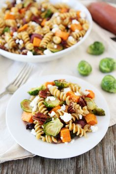 Brown-Butter-Pasta-with-Sweet-Potatoes-and-Brussels-Sprouts-4
