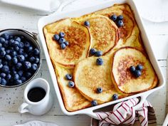 You've never seen pancakes like these before! Try this casserole version and impress all of your guests.