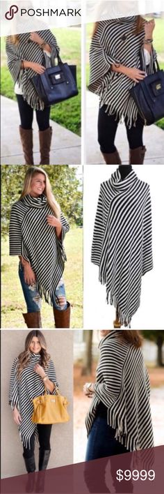 🔥Coming Soon🔥Gorgeous Fall Poncho🍁🍂 Comment or like for updates! This is the perfect layering piece for Fall🍁🍂🍁🍂🍁🍂 Sweaters Shrugs & Ponchos