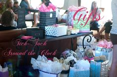 Tick Tock Around the Clock: Fun game for a bridal shower. She's Getting Married: Bridal Shower Brunch - Le Poule Roost Blog