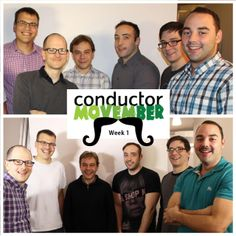 The team in Movember, Conductors, Action, Community, Couple Photos, Couples, Movies, Movie Posters, Couple Shots