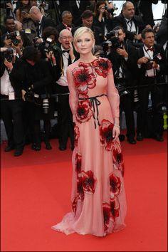 Kirsten Dunst lors du Festival de Cannes le 11 mai 2016
