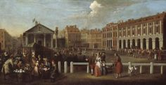 "Covent Garden Square, although I prefer ""Covent Garden Piazza"". I brought in new elements like the wide, open area to England from places like France and Italy. That way, there is more room to enjoy the beautiful architecture! London History, British History, Tate Gallery, Tate Britain, Victorian Gardens, Old London, Covent Garden, Grand Tour"
