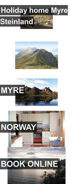 Hotel Holiday home Myre Steinland in Myre, Norway. For more information, photos, reviews and best prices please follow the link. #Norway #Myre #HolidayhomeMyreSteinland #hotel #travel #vacation