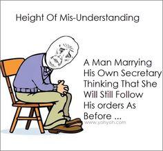 The Height Of Misunderstanding