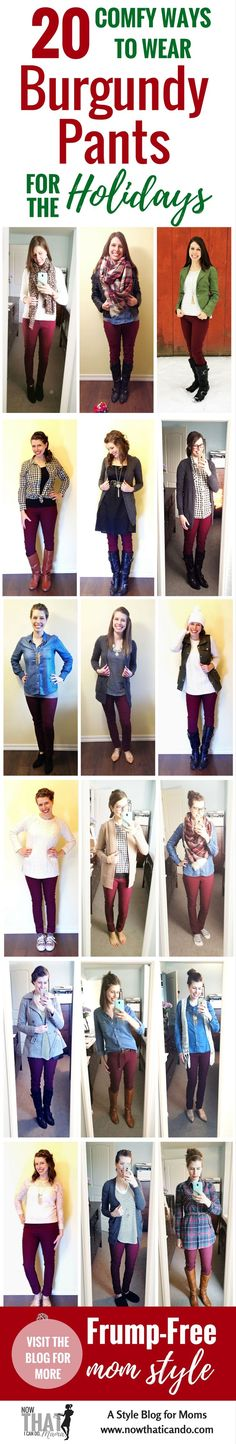 Try something new in your this season pants are gorgeous and easy to in so many momfriendly but chic ways for holiday get togethers parties even Here are 20 comfortable a. Holiday Party Outfit Casual, Holiday Outfits, Fall Winter Outfits, Winter Style, Mom Outfits, Fashion Outfits, Mom Fashion, Fashion Ideas, Classic Fashion