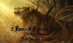 2 Hours of Fantasy Music by. Adrian von Ziegler