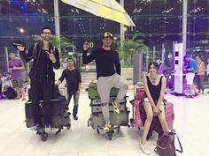 Bangkok airport #commando2 Vidyut Jammwal😍
