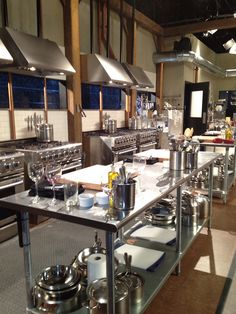 restaurant kitchen CHOPPED Kitchen studio by ngocB - Restaurant Kitchen Design, Bakery Kitchen, Studio Kitchen, Test Kitchen, Kitchen Pantry, Kitchen Layout, Kitchen Appliances, Chef Kitchen, Kitchens