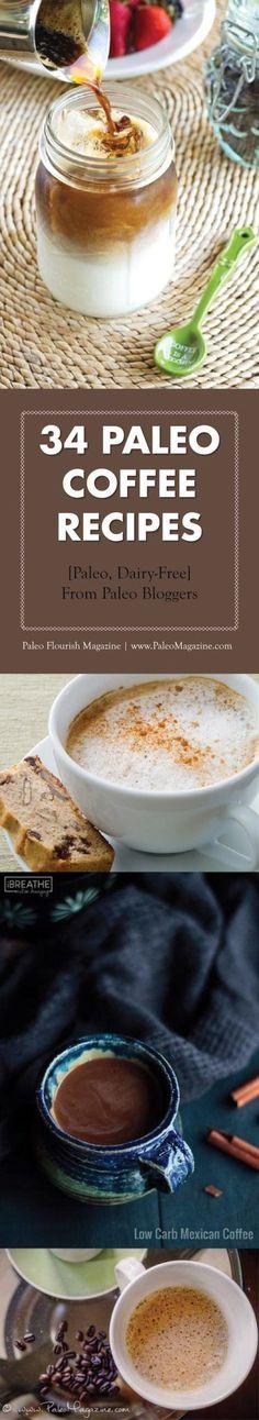 35 Paleo Coffee Recipes – Move Over Starbucks!