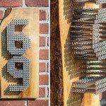 Industrial House Numbers