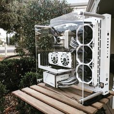 Find the hottest PC gaming gear including computers, accessories, components, games, and more. Custom Gaming Computer, Computer Gaming Room, Gaming Pc Build, Computer Build, Gaming Pcs, Gaming Room Setup, Computer Setup, Pc Setup, Desk Setup
