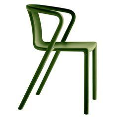 Air Armchair, Gartenstuhl, Farbe: Grün 92