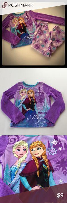 "Disney Frozen /""Follow Your Heart/"" Girl/'s Pajamas 3-10 Years"
