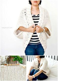 Free Crochet Starlight Shrug Pattern - Crochet Shrug Patterns - 20 Free Unique Designs - DIY & Crafts