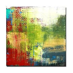 acrylic painting abstract art