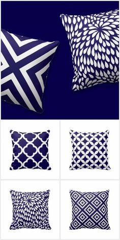 Link to a wonderful Cobalt Blue Pillow Collection. c$28 to $32/each