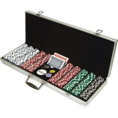 500 Dice Style 11.5g Poker Chip Set - Retail Ready! by Unknown. $64.06. Included in this set are 500 Dice Style 11.5 Gram Poker Chips in the following colors:150 White 200 Red 100 Green 50 Black These 500 Chips are 39 mm diameter casino sized chips and are 11.5 grams in weight. They are produced from a composite resin and an insert that gives them the weight feel of a heavy casino quality chip.The detail on these chips is great. The dice and stripes around the chip as well as ...