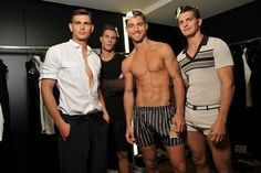 Dolce & Gabbana Menswear Spring Summer 2011 Backstage
