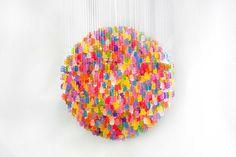 Gummy Bears Chandelier