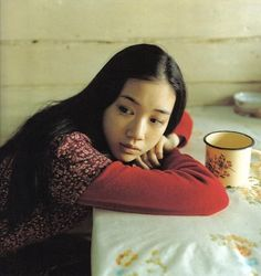 It's easy to see why Yu Aoi is a shoo-in for the mori girl title. From her quirky film choices to her whimsical persona, Yu Aoi doesn't seem. Tokyo Street Fashion, Japanese Street Fashion, Japan Fashion, Grunge Style, Soft Grunge, Yu Aoi, Le Happy, Nu Goth, Grunge Outfits