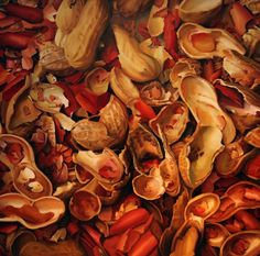 Shells, Painting by Carole Bayer Sager  I loved her music.