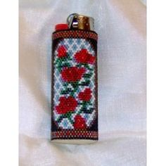I've made so many beaded lighter covers, but not using Delicas.  I may need to try this.