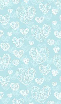 Flowery wallpaper, pastel wallpaper, heart wallpaper, blue wallpapers, wallpaper for your phone Flowery Wallpaper, Cute Patterns Wallpaper, Paper Wallpaper, Heart Wallpaper, Tumblr Wallpaper, Cartoon Wallpaper, Mobile Wallpaper, Wallpaper Backgrounds, Iphone Wallpaper