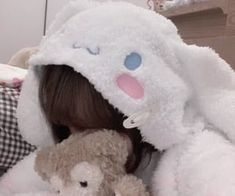Baby Pink Aesthetic, Aesthetic Girl, Aesthetic Anime, Mode Kawaii, Kawaii Girl, Bunny Hat, Little Doll, Kawaii Clothes, Cute Icons